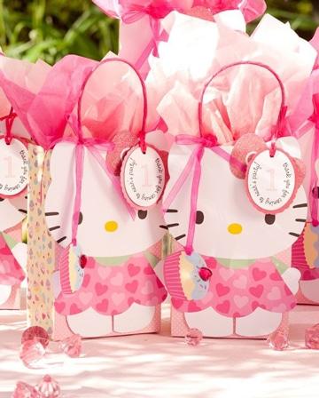 fiesta tematica de hello kitty ideas cotillon