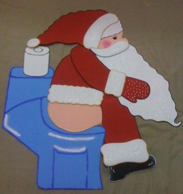 figuras de fomi para navidad graciosas