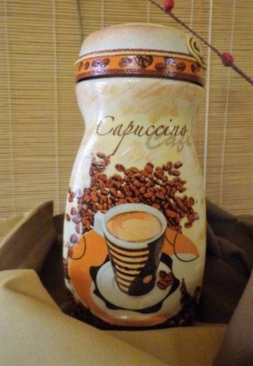 Ideas para reciclar frascos de nescafe decorados for Decoracion de frascos de vidrio para cocina
