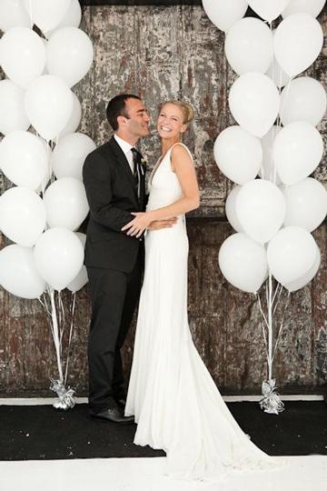 globos de helio para bodas ideas decoracion
