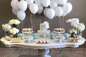 Adornos e ideas de globos de helio para bodas