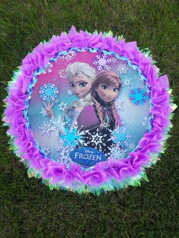 imagenes de piñatas de princesas frozen