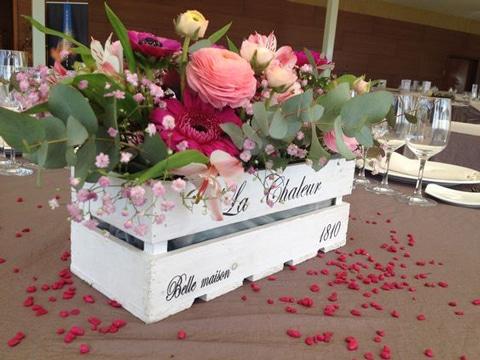 Ideas exclusivas para crear macetas para centro de mesa for Decoracion de eventos vintage