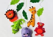 Ideas de como usar los moldes de animalitos de la selva