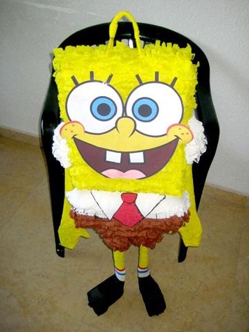 piñatas de bob esponja infantiles