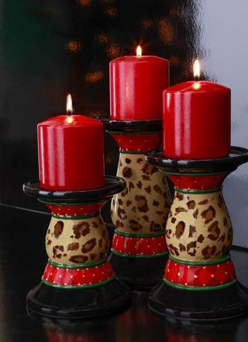 velas rojas para el amor pequeñas