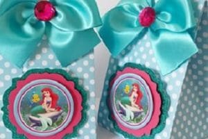 Ideas para hacer bolsitas de princesas para cumpleaños
