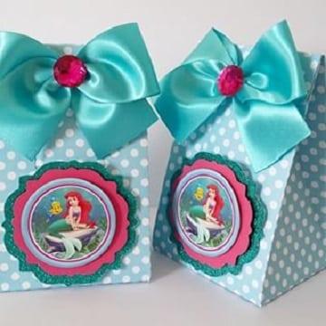 bolsitas de princesas para cumpleaños ariel