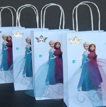 bolsitas de princesas para cumpleaños frozen