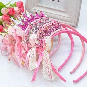 coronitas de princesas para cumpleaños diademas