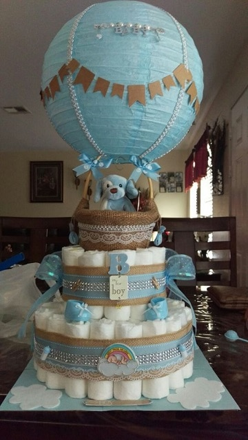 cosas para baby shower varon decoracion