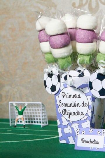 decoracion de futbol para comuniones decoraciones
