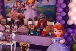 Decorados para fiesta tematica de princesa sofia