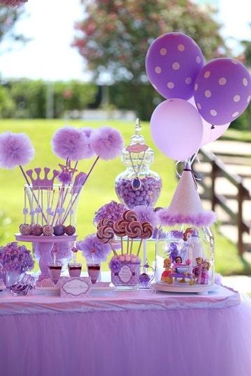 fiesta tematica de princesa sofia ideas