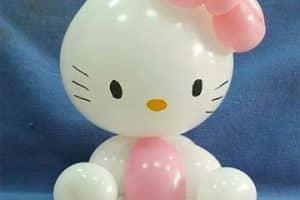 Originales adornos de figuras de globos para niños