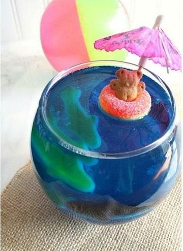 gelatinas para baby shower niño
