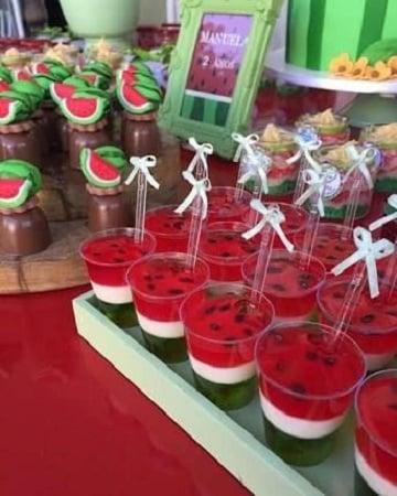 gelatinas para fiestas infantiles de frutas