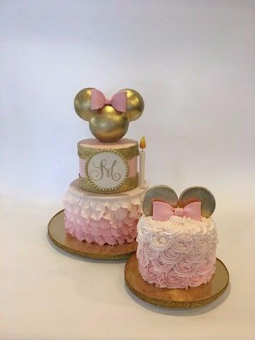 imagenes de tortas de minnie para cumpleaños