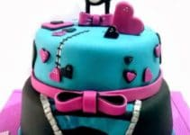 Ejemplos e imagenes de tortas de monster high para fiesta