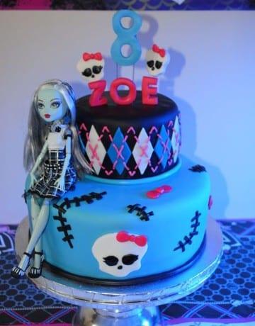 imagenes de tortas de monster high para cumpleaños