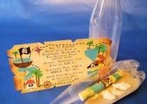 Originales y tematicas invitaciones de jake y los piratas