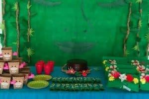 Ideas decorativas para mesa de dulces de moana