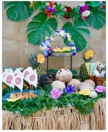mesa de dulces de moana originales