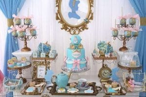 Ideas para adornos de mesas decoradas de princesas