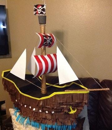 piñatas de jake el pirata barco
