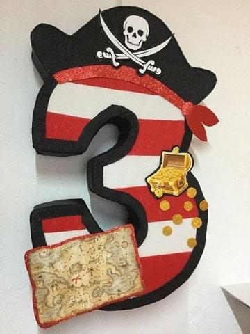 piñatas de jake el pirata numero
