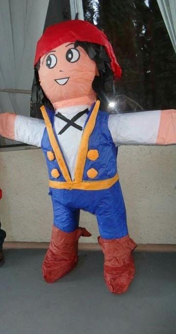 piñatas de jake el pirata para cumpleaños