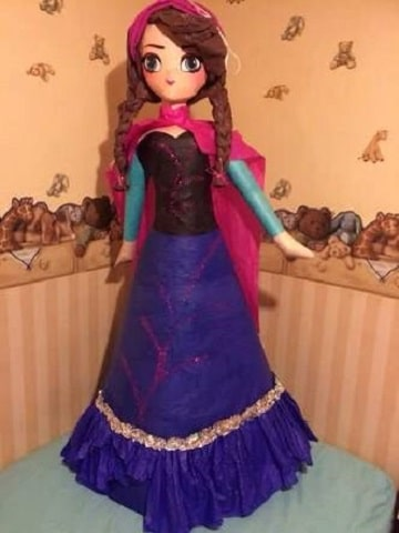 piñatas de princesas disney ana