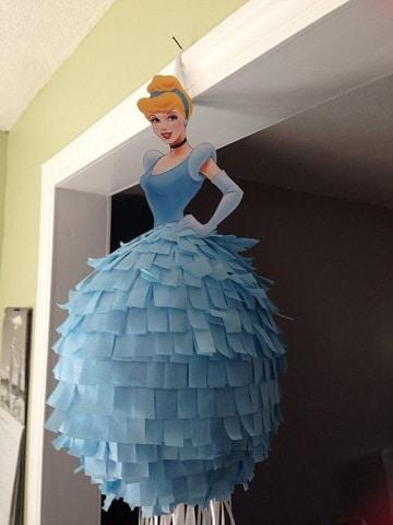 piñatas de princesas disney cenicienta