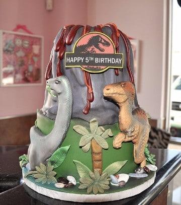 tortas de dinosaurios infantiles ideas