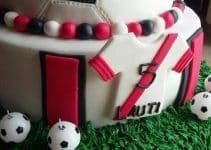 Decoraciones originales de tortas de futbol para niños