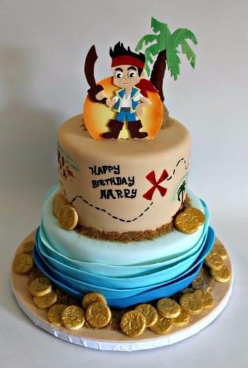 tortas de jake el pirata de dos pisos