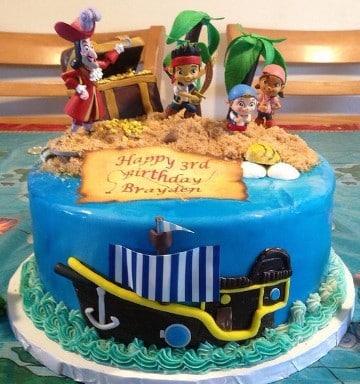 tortas de jake el pirata un piso