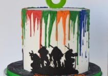 Decoracion para tortas de las tortugas ninjas