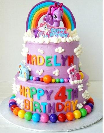tortas de mi pequeño pony diseños