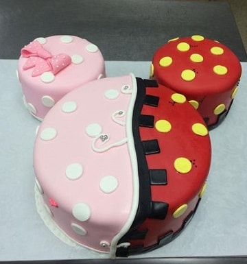 tortas de mickey y minnie faciles