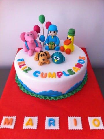 tortas de pocoyo para cumpleaños ideas