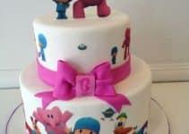 Bonitos diseños en tortas de pocoyo para cumpleaños