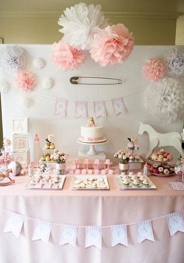 adornos de beibi chaguer mesa de dulces