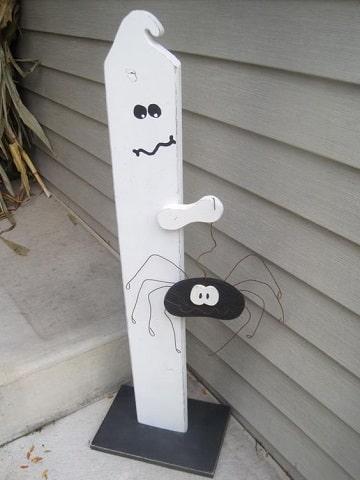 adornos de halloween para casa divertidos
