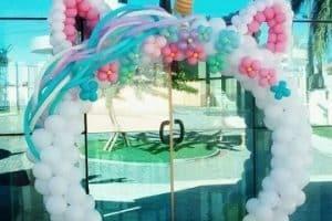 Diseños asombrosos de arcos de globos para cumpleaños