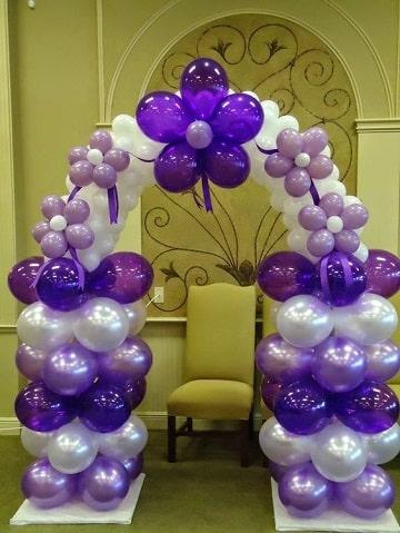 arcos de globos para cumpleaños ideas