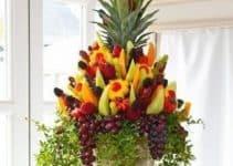 Naturalidad y diseños de arreglos de frutas para bodas