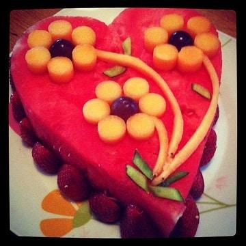 arreglos de frutas para bodas pequeñas