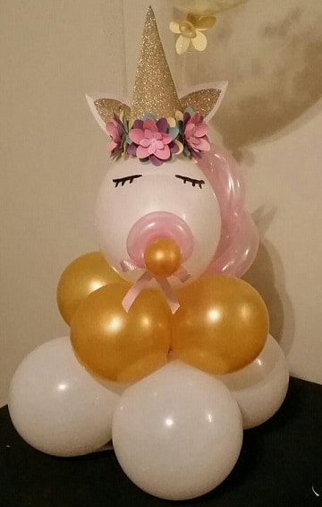 baby shower de unicornios bebe