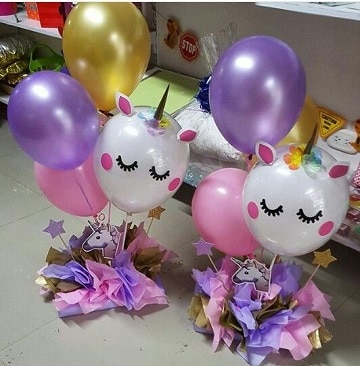 Decoracion Y Adornos Para Baby Shower De Unicornios